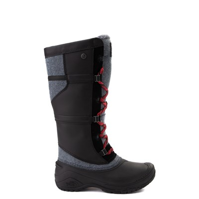 Main view of Womens The North Face Shellista IV Tall Boot - Black / Zinc Gray