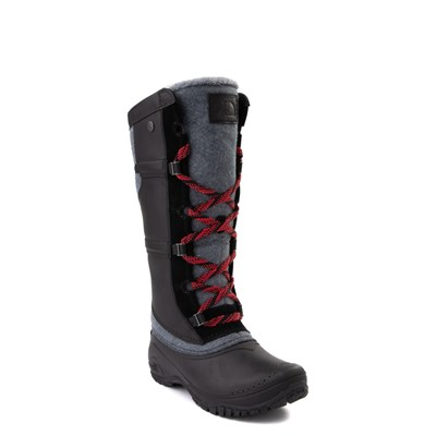 Alternate view of Womens The North Face Shellista IV Tall Boot - Black / Zinc Gray