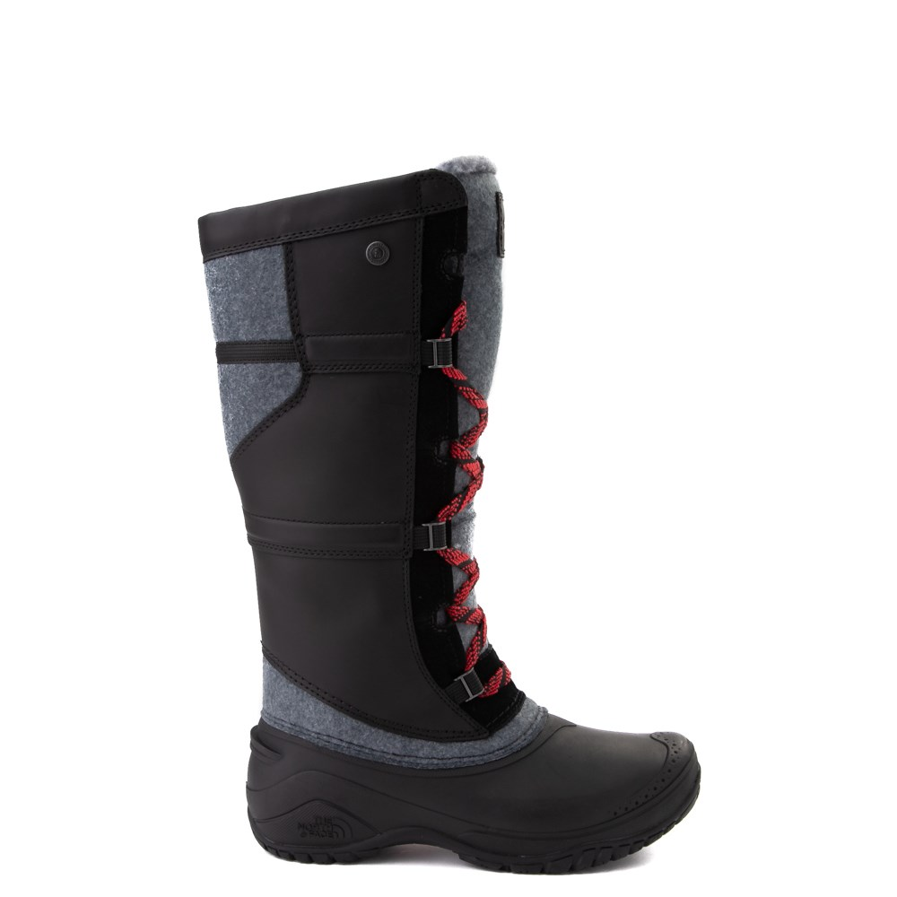 Womens The North Face Shellista IV Tall Boot - Black / Zinc Gray