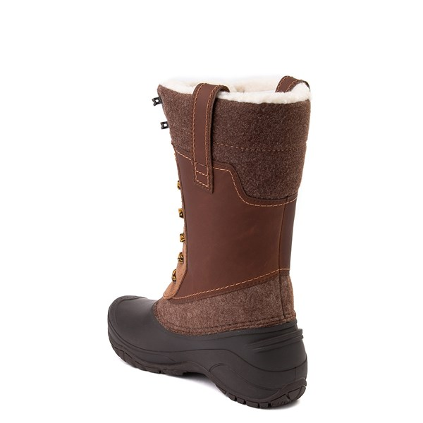 alternate view Womens The North Face Shellista III Mid Boot - Demitasse Brown / Carafe BrownALT2