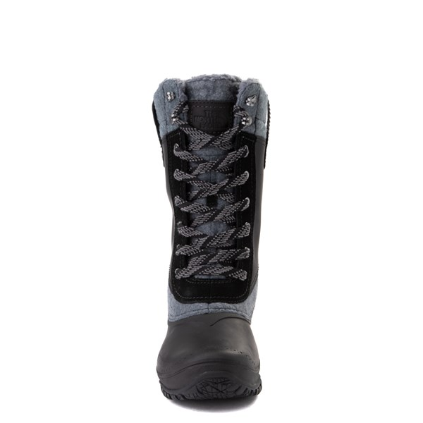 alternate view Womens The North Face Shellista III Mid Boot - Black / Zinc GrayALT4