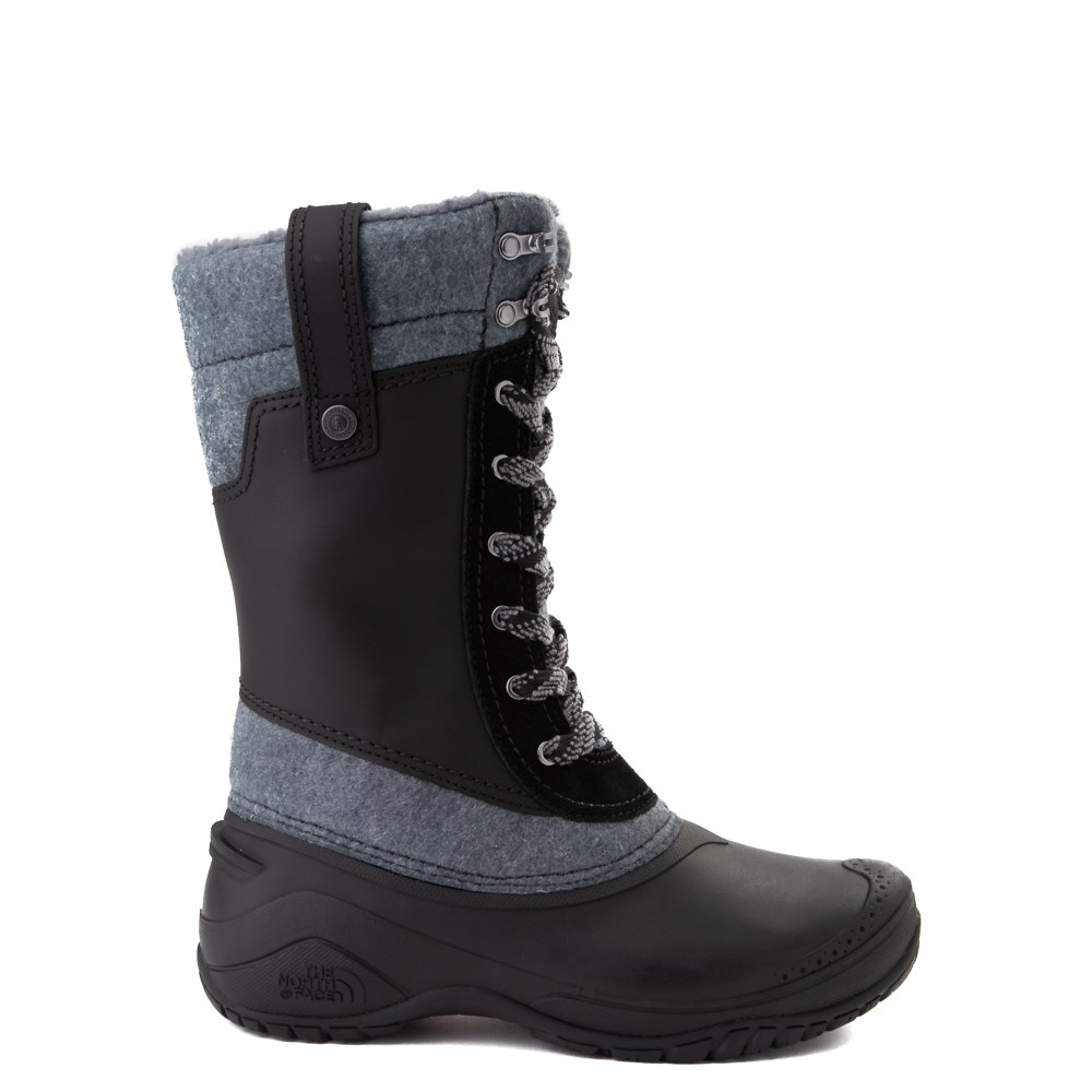 Womens The North Face Shellista III Mid Boot - Black / Zinc Gray
