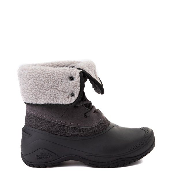 alternate view Womens The North Face Shellista Roll-Down Boot - Dark Gull Gray / Phantom GrayALT1