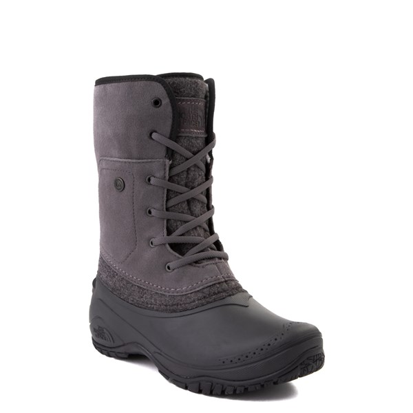 alternate view Womens The North Face Shellista Roll-Down Boot - Dark Gull Gray / Phantom GrayALT1B