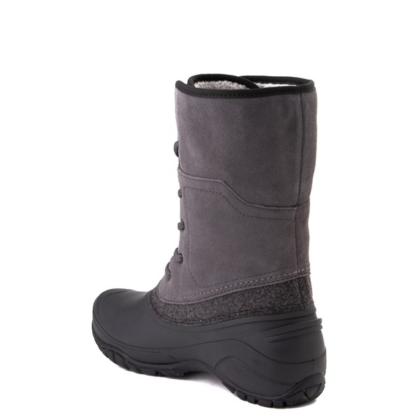 alternate view Womens The North Face Shellista Roll-Down Boot - Dark Gull Gray / Phantom GrayALT2