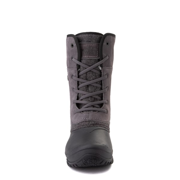 alternate view Womens The North Face Shellista Roll-Down Boot - Dark Gull Gray / Phantom GrayALT4
