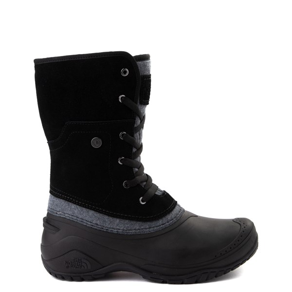 Womens The North Face Shellista Roll-Down Boot - Black / Zinc Gray