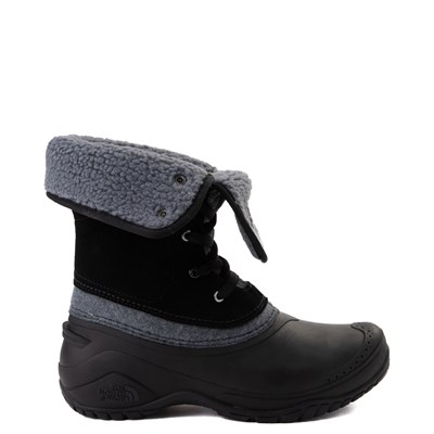 Alternate view of Womens The North Face Shellista Roll-Down Boot - Black / Zinc Gray