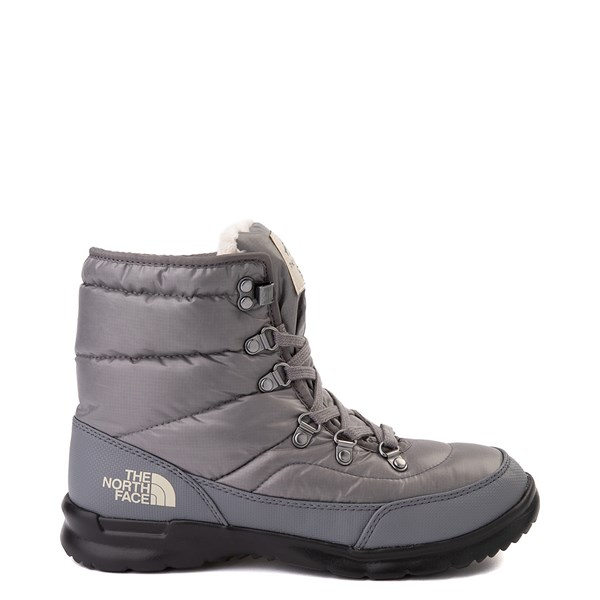 Womens The North Face Thermoball™ Lace II Boot - Zinc Gray