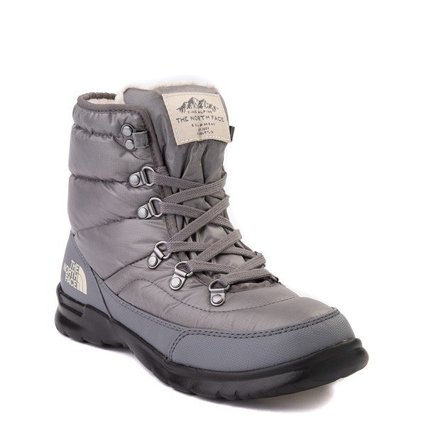 alternate view Womens The North Face Thermoball™ Lace II Boot - Zinc GrayALT1
