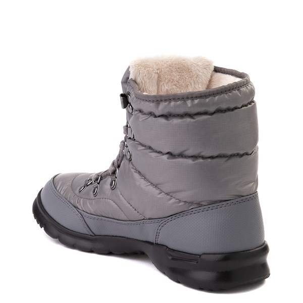 alternate view Womens The North Face Thermoball™ Lace II Boot - Zinc GrayALT2