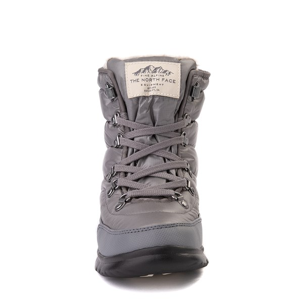 alternate view Womens The North Face Thermoball™ Lace II Boot - Zinc GrayALT4