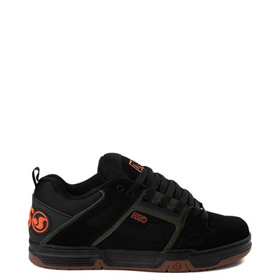 Main view of Mens DVS Comanche Skate Shoe - Black / Olive / Gum
