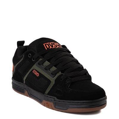 Alternate view of Mens DVS Comanche Skate Shoe - Black / Olive / Gum