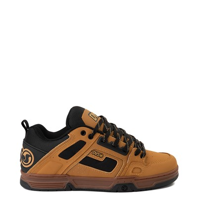 Main view of Mens DVS Comanche Skate Shoe - Chamois / Black / Gum