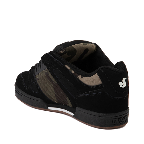 alternate view Mens DVS Celsius Skate Shoe - Black / Camo / CharcoalALT1