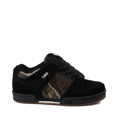 Main view of Mens DVS Celsius Skate Shoe - Black / Camo / Charcoal