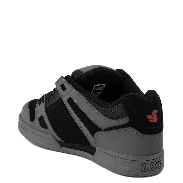 alternate view Mens DVS Celsius Skate Shoe - Charcoal / Black / RedALT2