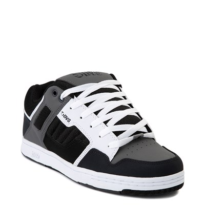 Alternate view of Mens DVS Enduro 125 Skate Shoe - Black / Gray / Navy