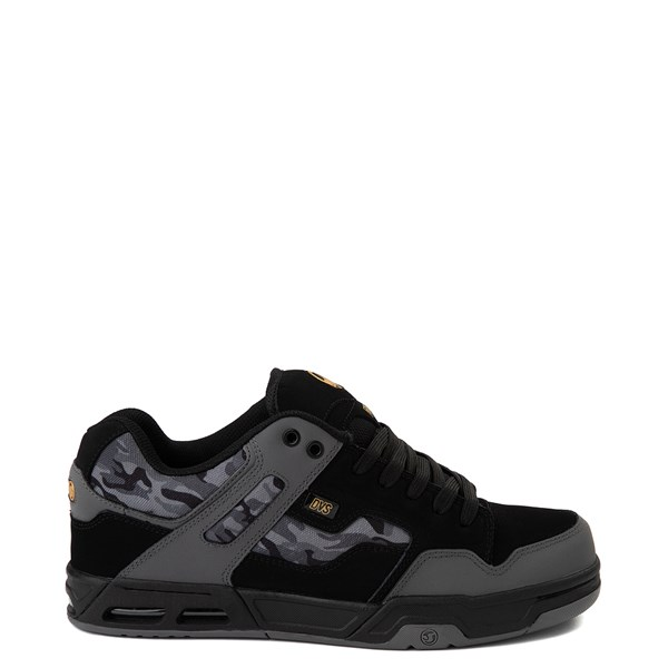 Mens DVS Enduro Heir Skate Shoe - Black / Gray Camo