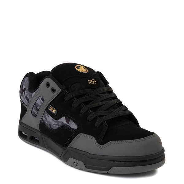 alternate view Mens DVS Enduro Heir Skate Shoe - Black / Gray CamoALT1
