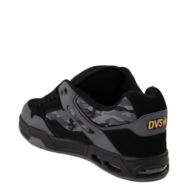 alternate view Mens DVS Enduro Heir Skate Shoe - Black / Gray CamoALT2