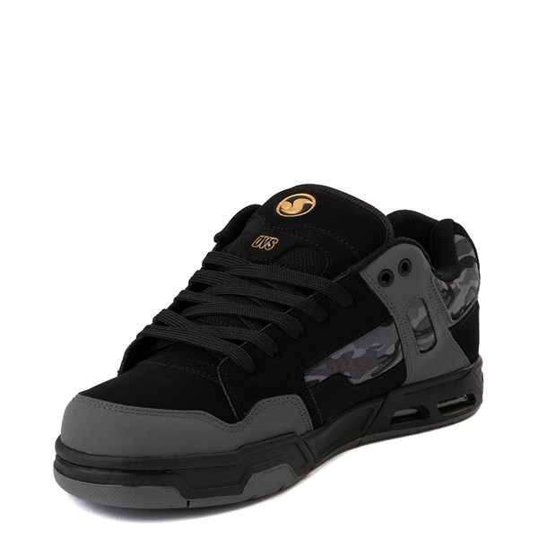 alternate view Mens DVS Enduro Heir Skate Shoe - Black / Gray CamoALT3