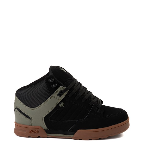 Mens DVS Militia Boot Skate Shoe - Black / Olive