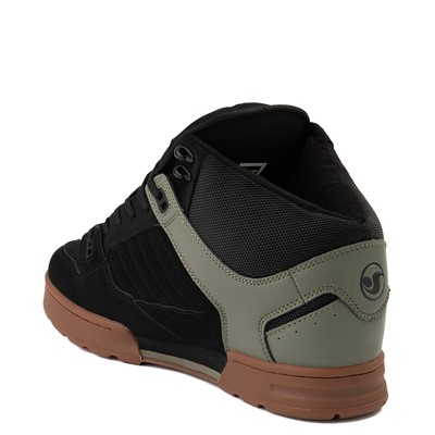Alternate view of Mens DVS Militia Boot Skate Shoe - Black / Olive