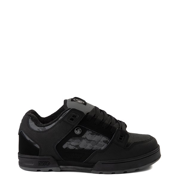 Mens DVS Militia Snow Skate Shoe - Black / Gray Camo