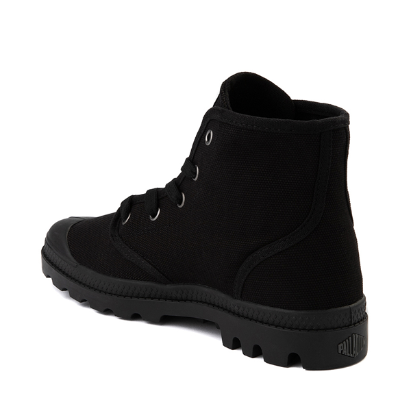 alternate view Womens Palladium Pampa Hi Boot - BlackALT1