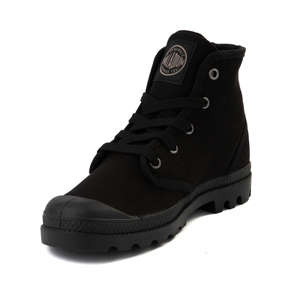 alternate view Womens Palladium Pampa Hi Boot - BlackALT2