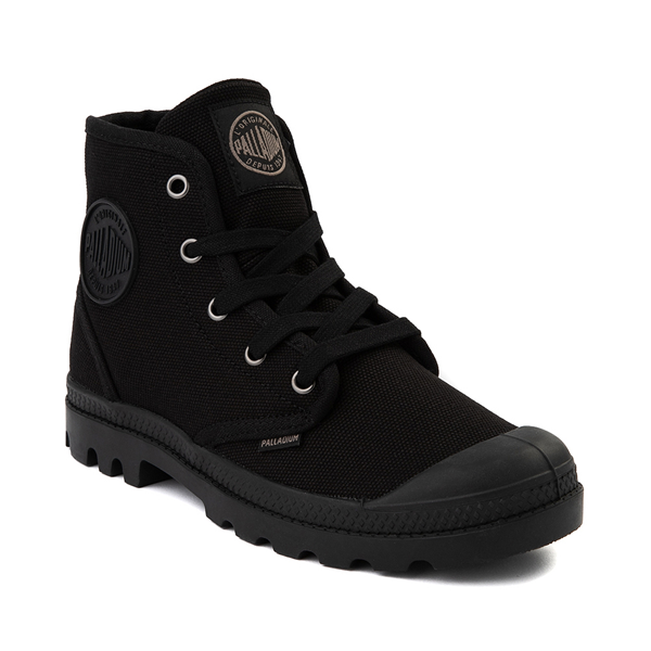 alternate view Womens Palladium Pampa Hi Boot - BlackALT5