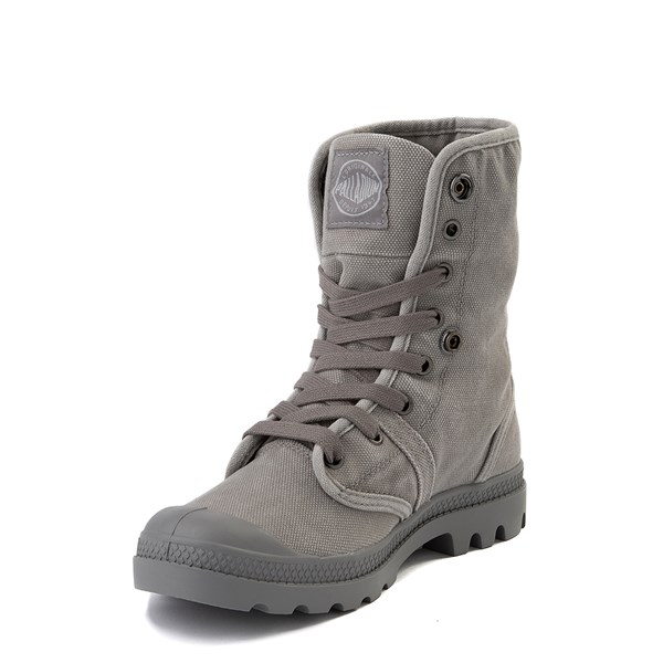 alternate view Womens Palladium Pallabrousse Baggy Boot - TitaniumALT3