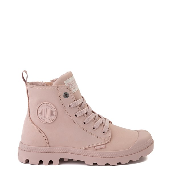 Womens Palladium Pampa Hi Zip Boot - Rose Smoke