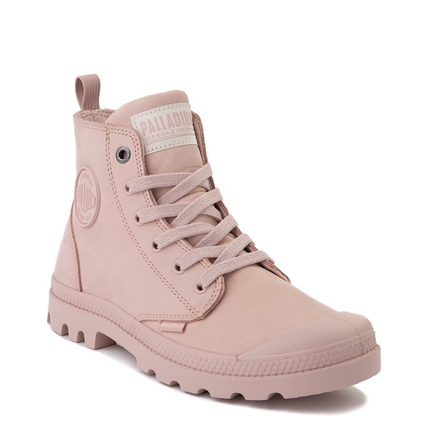 alternate view Womens Palladium Pampa Hi Zip Boot - Rose SmokeALT1