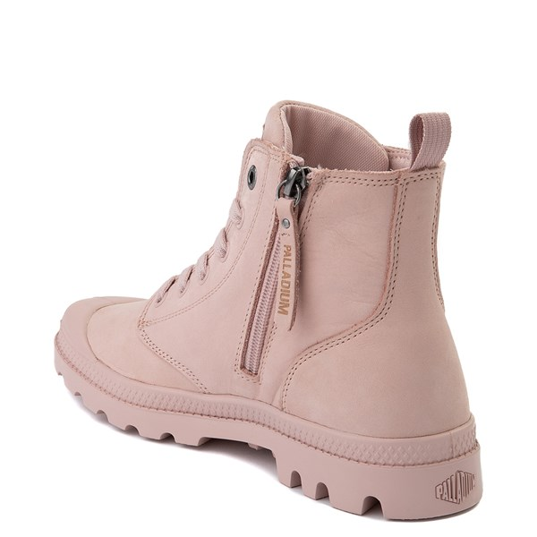 alternate view Womens Palladium Pampa Hi Zip Boot - Rose SmokeALT2