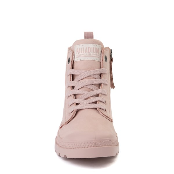 alternate view Womens Palladium Pampa Hi Zip Boot - Rose SmokeALT4
