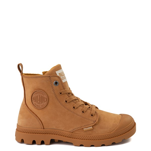 Womens Palladium Pampa Hi Zip Boot - Amber Gold