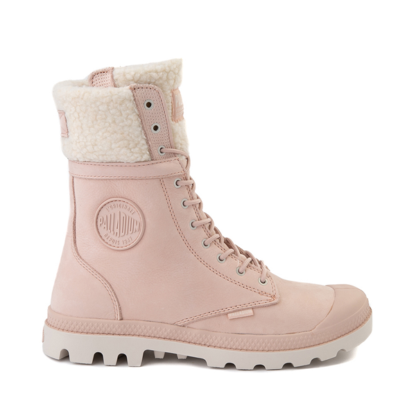 Womens Palladium Baggy Pilot WT Boot - Rose Dust