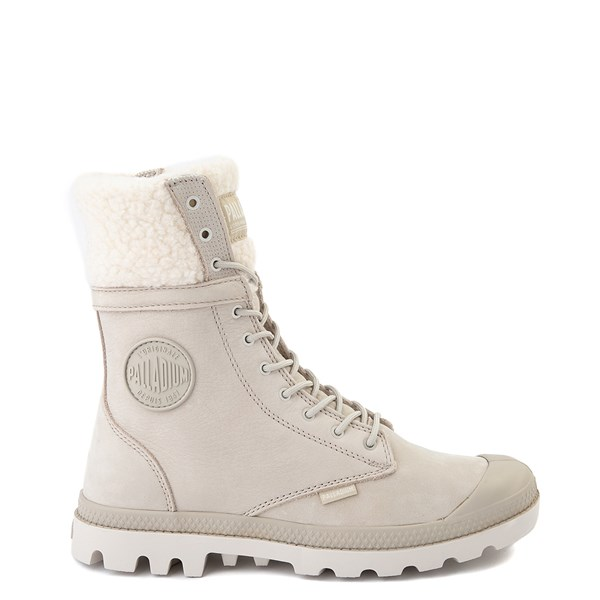 Womens Palladium Baggy Pilot WT Boot - Feather Gray