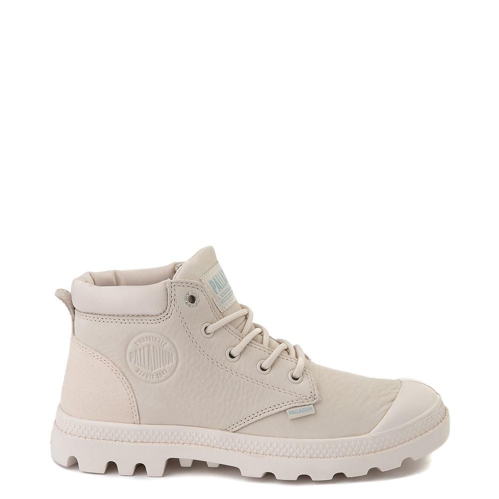 Womens Palladium Pampa Lo Cuff Boot - Whitecap Gray