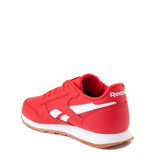 alternate view Reebok Classic Athletic Shoe - Big Kid - RedALT2