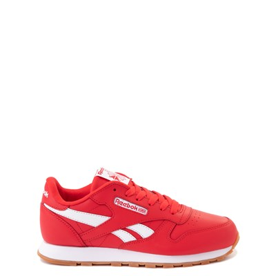Main view of Reebok Classic Athletic Shoe - Big Kid - Red