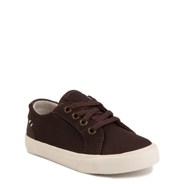 Alternate view of Sperry Top-Sider Striper II Casual Shoe - Toddler / Little Kid - Brown
