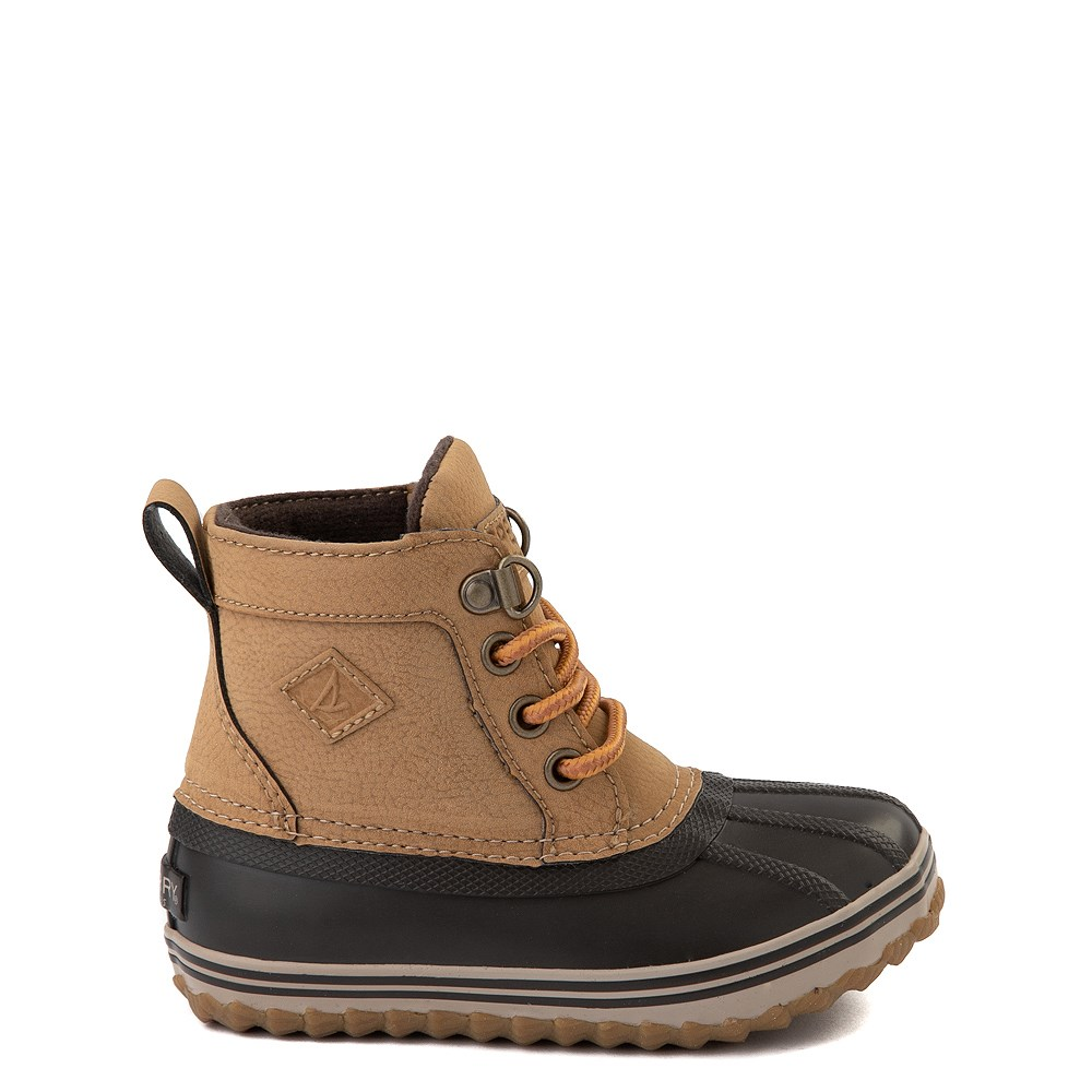 Sperry Top-Sider Bowline Casual Boot - Toddler / Little Kid -Tan