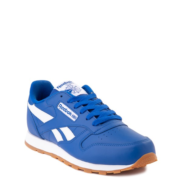 alternate view Reebok Classic Athletic Shoe - Big Kid - Royal BlueALT1