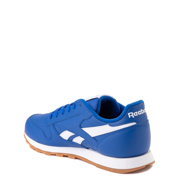 alternate view Reebok Classic Athletic Shoe - Big Kid - Royal BlueALT2
