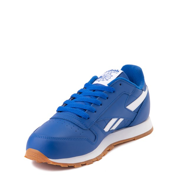 alternate view Reebok Classic Athletic Shoe - Big Kid - Royal BlueALT3