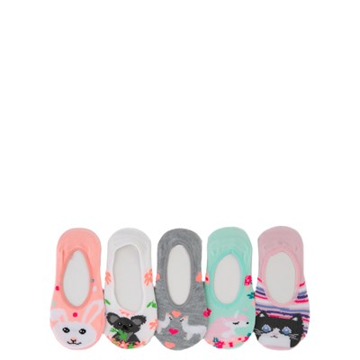 Main view of Cutie Critter Liners 5 Pack - Girls Baby - Multi